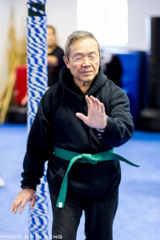 Tai Chi stance training at Xinyi-Dao Kung Fu Academy on Long Island