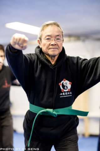 Tai Chi double fists strike training at Xinyi-Dao Kung Fu Academy on Long Island