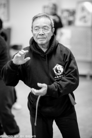 Tai Chi practice at Xinyi-Dao Kung Fu Academy on Long Island