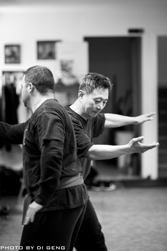 Body strike training at Xinyi-Dao Kung Fu Academy on Long Island