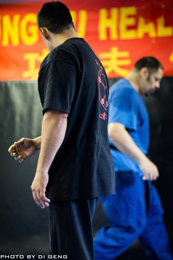 Footwork training at Xinyi-Dao Kung Fu Academy on Long Island