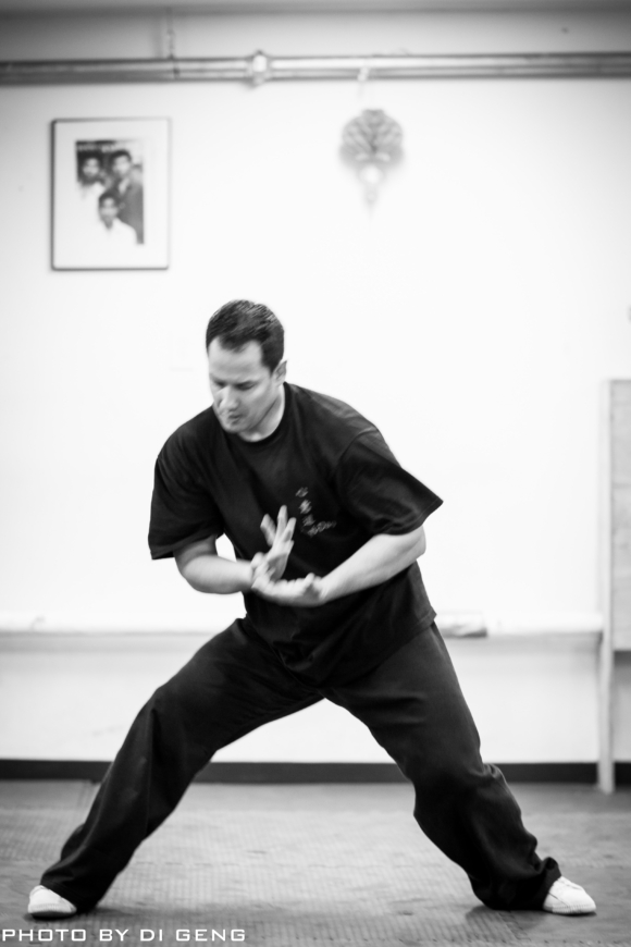 Internal training at Xinyi-Dao Kung Fu Academy on Long Island