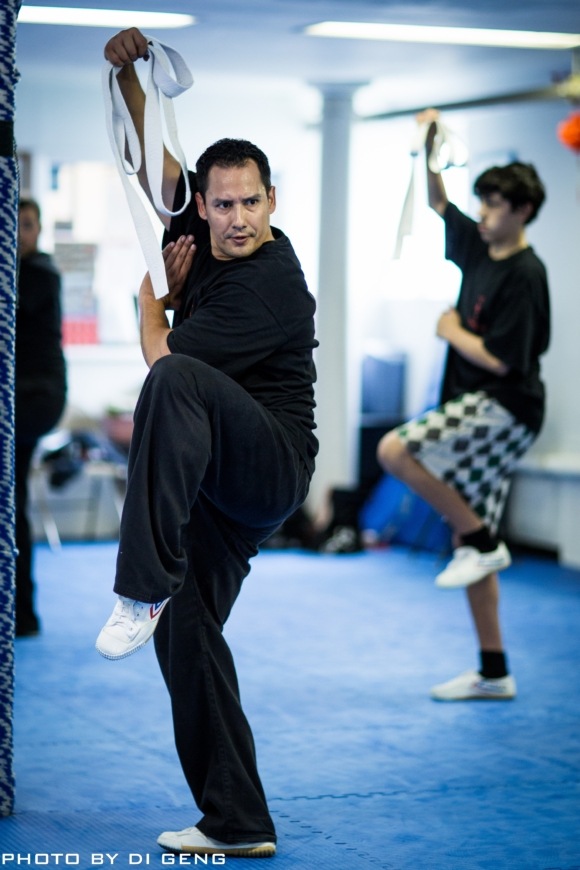 Shuai Jiao belt training at Xinyi-Dao Kung Fu Academy on Long Island