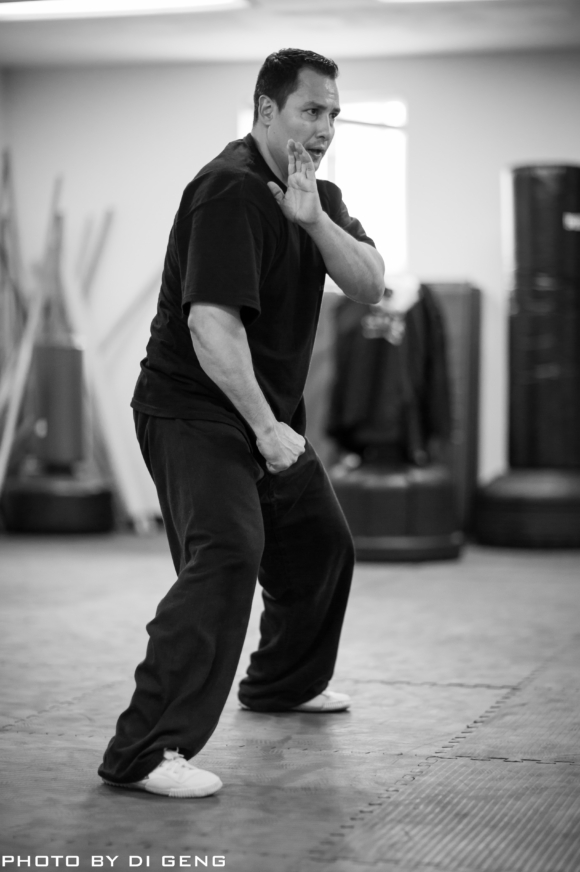 Form practice at Xinyi-Dao Kung Fu Academy on Long Island