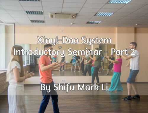 Xinyi-Dao Introductory Seminar (Part 2) by Shifu Mark Li